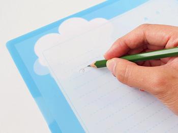 鉛筆でかけるファイル