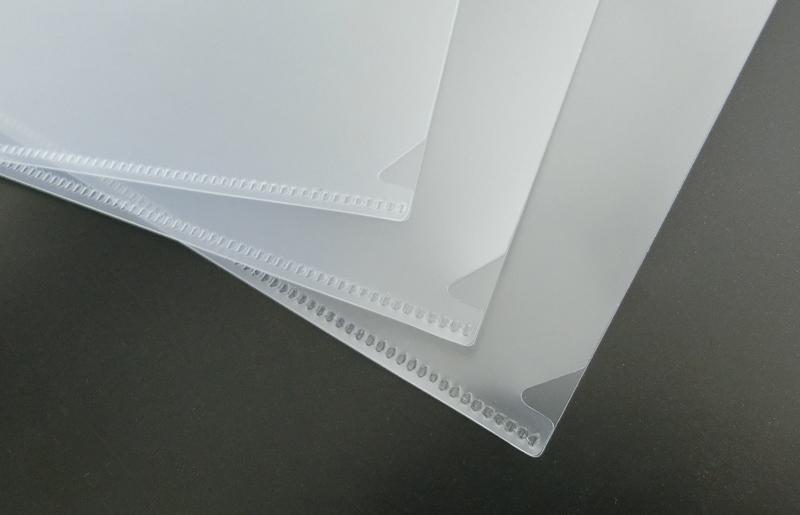 クリアファイルの下の方についている三角形の切れ込みは一体何のため?
