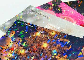 ホログラム ポストカード